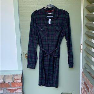 NWT- GAP- size XL FLANNEL DRESS